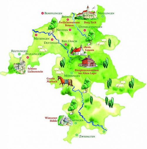 Schwäbische Alb Karte Städte.Aus Der Streuobstwiese Bäckerhaus Veit Traditionelles Bäckerei